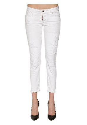 JENNIFER COTTON DENIM JEANS