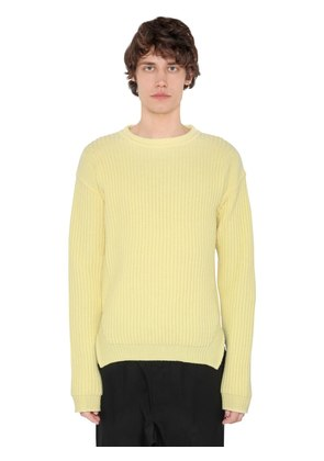 VIRGIN WOOL KNIT SWEATER