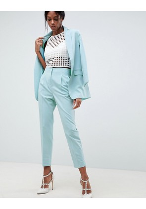 ASOS DESIGN mix & match cigarette trousers - Soft blue