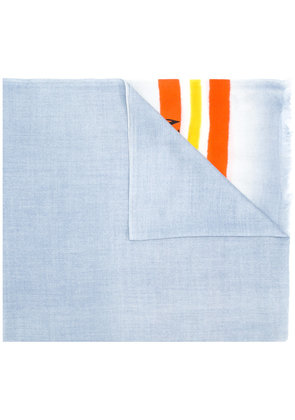 Valentino VLTN striped scarf - Grey