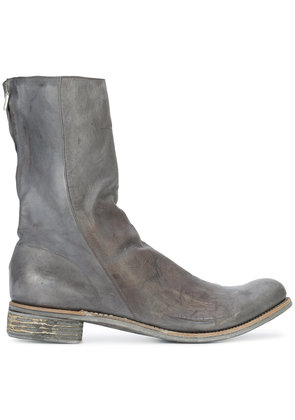 A Diciannoveventitre Kangaroo distressed boots - Grey