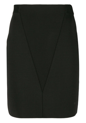 Givenchy v-front pencil skirt - Black