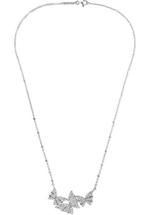 Stephen Webster - Fly By Night 18-karat White Gold Diamond Necklace - one size