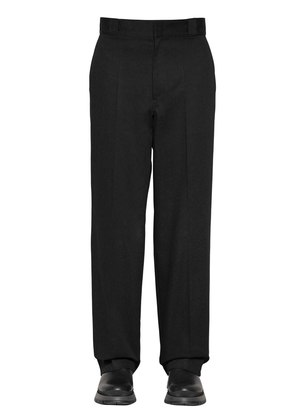 25CM COTTON TWILL TROUSERS W/LOGO