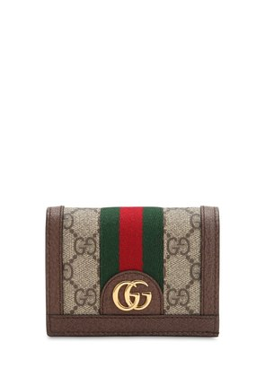 OPHIDIA GG SUPREME SNAP CARD HOLDER
