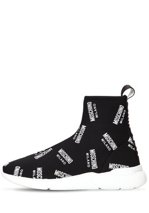20MM LOGO KNIT SOCK SNEAKERS
