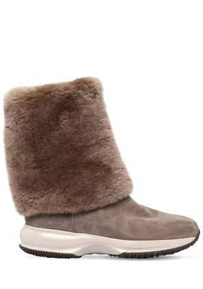 60MM INTERACTIVE SHEARLING BOOTS