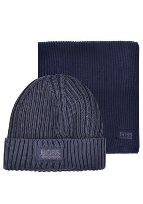 BOSS GREEN Hat And Scarf Gift Set