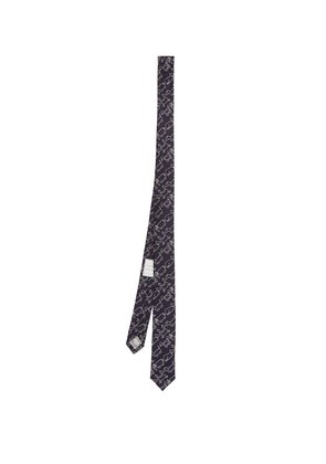 Toy Icon-jacquard silk tie