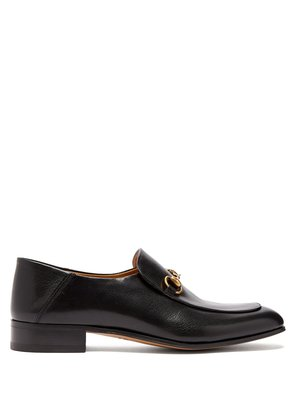 Mister New Horsebit leather loafers