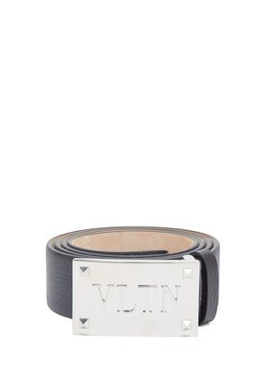VLTN Rockstud-embellished leather belt