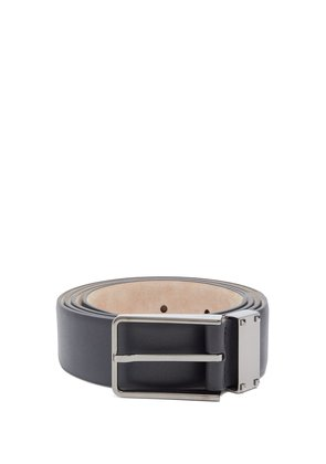 Micro-Rockstud embellished leather belt