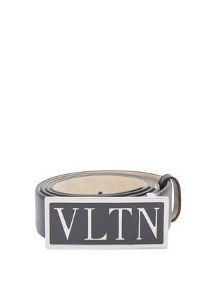 VLTN leather belt