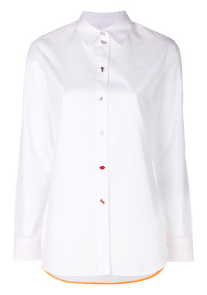 Paul Smith button detail shirt - White