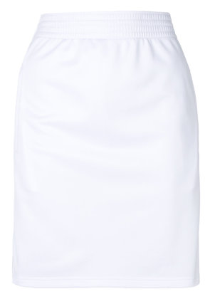 Givenchy track mini skirt - White