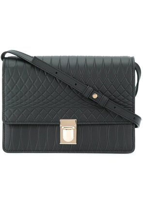Paul Smith geometric shoulder bag - Black