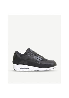 Air Max 90 mixed leather trainers