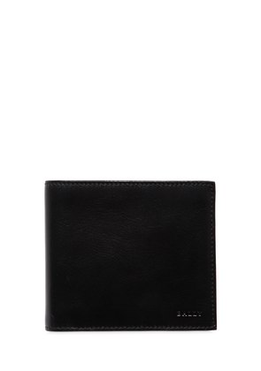 BRUSHED LEATHER CLASSIC WALLET