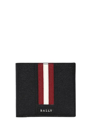STRIPED SAFFIANO LEATHER CLASSIC WALLET