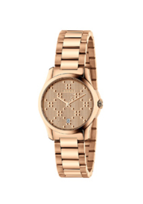 Gucci 27MM G-Timeless Bracelet Watch in Metallics