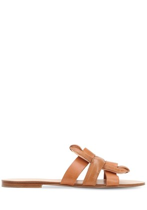 20MM LEATHER SLIDE SANDALS