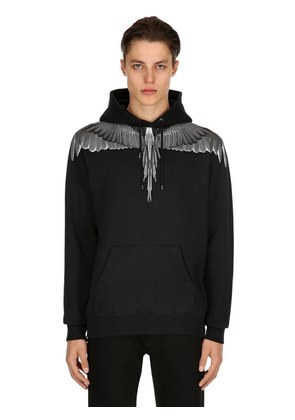 WINGS COTTON SWEATSHIRT HOODIE