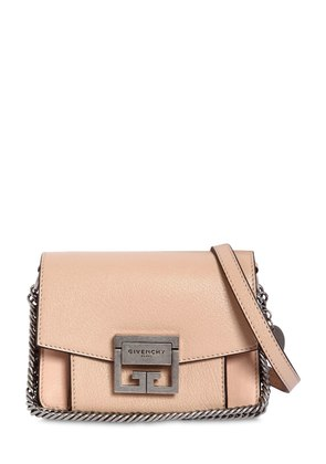 MINI GV3 GRAINED LEATHER SHOULDER BAG