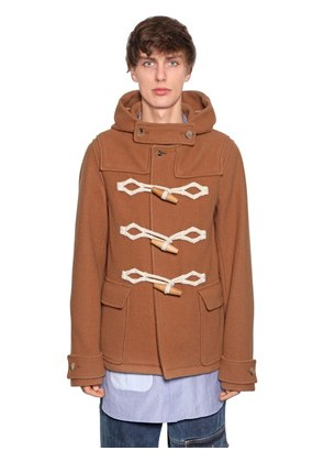 VIRGIN WOOL DUFFLE COAT