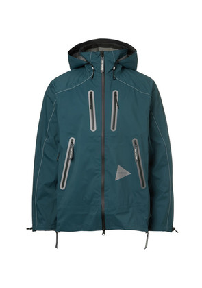 E Vent Dwr-coated Shell Hooded Jacket