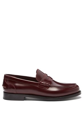 Bedmont leather penny loafers