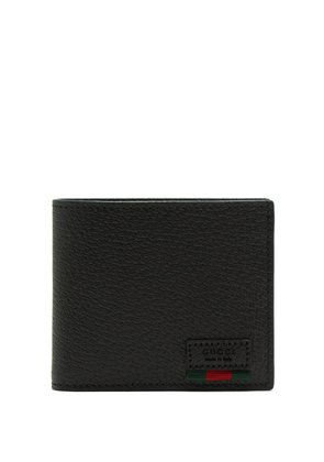 Agora grained leather wallet