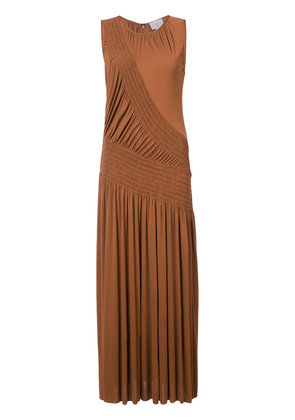 sleeveless shift maxi dress - Yellow & Orange Jason Wu Grey