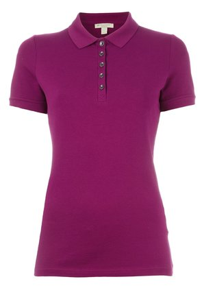 Burberry classic polo shirt - Pink & Purple