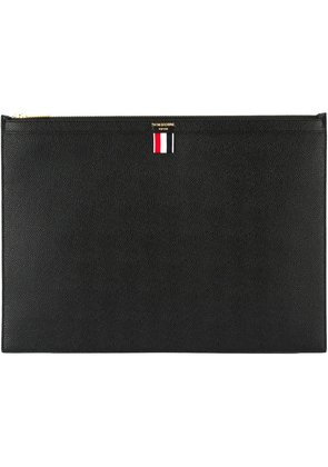 Excellent Free Shipping The Cheapest Large Zipper Laptop Holder(39X28CM) In Pebble Grain - Black Thom Browne Outlet Cheap Online Sale Footlocker Free Shipping With Mastercard jnBmMF6P
