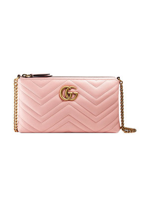 Gucci GG Marmont mini chain bag - Pink & Purple