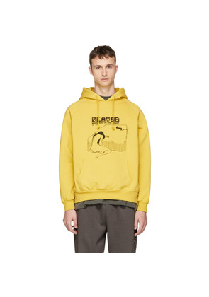 Second/Layer Yellow 'Whispers In The Night' Hoodie