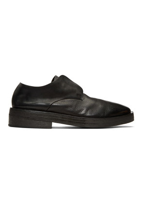Marsèll Black Listone Loafers