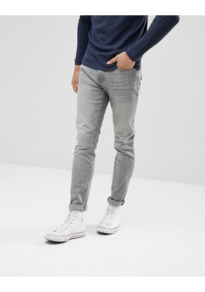 Celio Slim Fit Jeans In Grey Wash - Gris