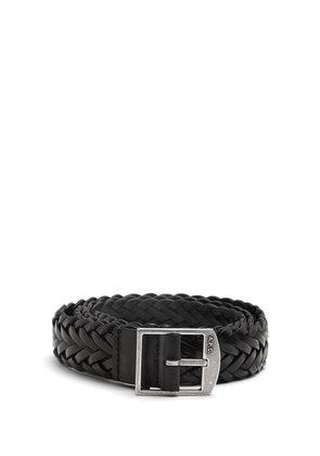 Gael braided-leather belt