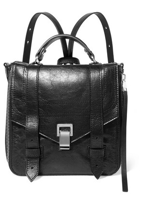 Proenza Schouler - Ps1+ Textured-leather Backpack - Black
