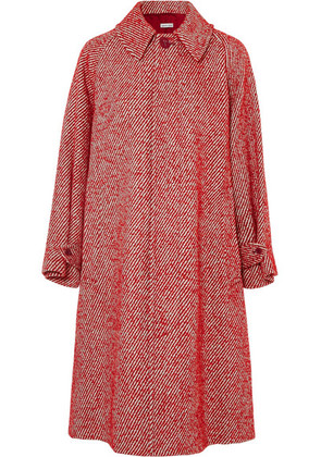 Tomas Maier - Oversized Wool-blend Coat - Red