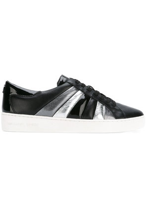 Michael Michael Kors panelled lace-up sneakers - Black