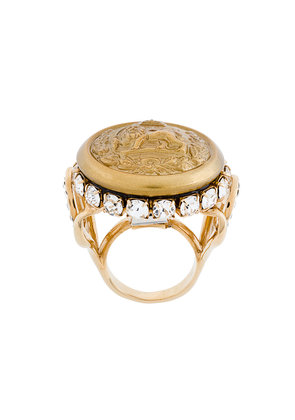 Dolce & Gabbana lion signet ring - Yellow & Orange
