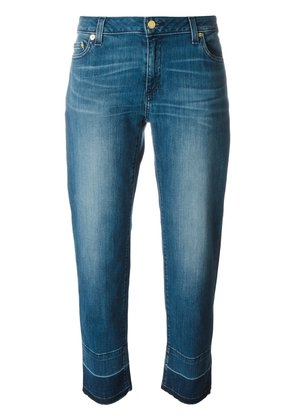 Michael Michael Kors released-hem straight-leg jeans - Blue