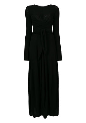 Jil Sander belt waist dress - Black