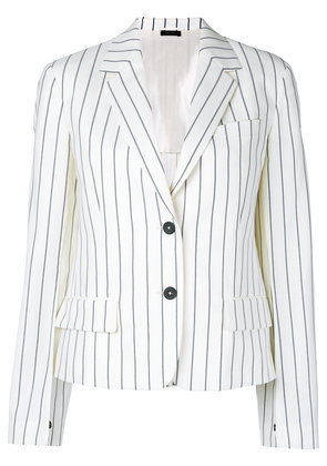 Jil Sander striped blazer - Blue