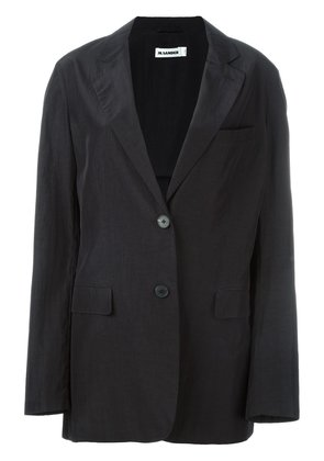 Jil Sander two-button blazer - Black