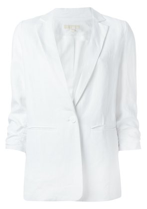 Michael Michael Kors cropped sleeves blazer - White