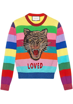 Gucci Wool sweater with embroidery - Multicolour