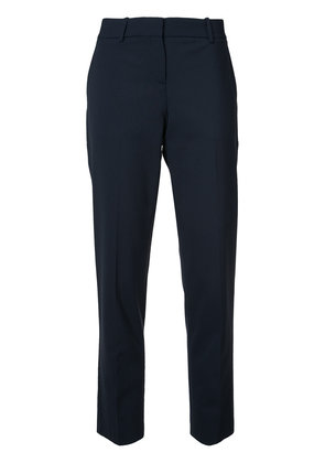 Theory classic high-waisted trousers - Blue